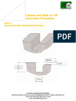 FWE Grade Beam and Fence Procedure