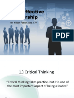 6Cs of Effective Leadership