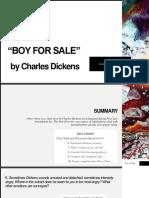 Boy for Sale Presentation