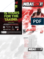 NBA2K11 PC Extended Manual
