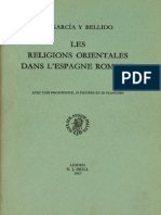 García y Bellido-Les religions orientales dans l'Espagne romaine.pdf