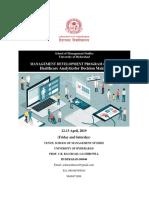 Final- Healthcare Analytics MDP