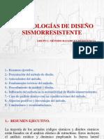 Metodologías de Diseño Sismorresistente-para Sustentar - Final