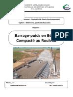 Rapport Barrage en Bcr-elkhatabi Abdelhadi