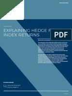 Explaining Hedge Fund Index Returns 2017 11