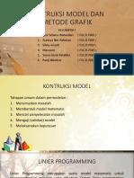 Kontruksi Model Dan Metode Grafik