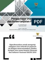 PENGGUNAAN UTANG & KEBERLANJUTAN FISKAL - ABM GMNI 110518.pdf