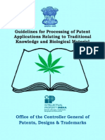 Guidelines for processing of patent application related to Traditional knowledge.pdf