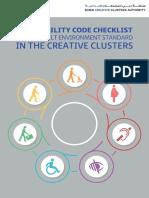 DCCA Accessibility Code Checklist