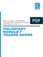 BRC Packaging 5 Voluntary Module Traded Goods v8