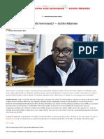"""a Era Do Humanismo Está Terminando"" - Achille Mbembe - Revista Prosa Verso e Arte"