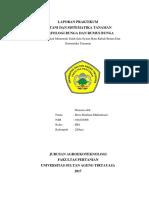 laporan praktikum botani MORFOLOGI BUNGA DAN RUMUS BUNGA
