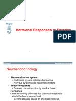 Harmonal Responses to Exercise