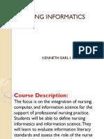 Nursing Informatics 2018
