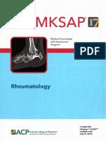 MKSAP 17 Rheumatology PDF