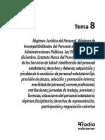 Régimen Jurídico Del Personal