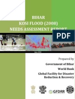 (Report) GFDRR Kosi River Flood Bihar.pdf