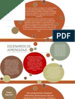 Escenarios Educativos Setas & Ambiente