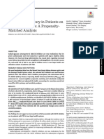 Acute Kidney Injury in Patients on SGLT2 Inhibitors-A Propensity-Matched Analysis