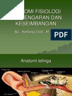 Fisiologi Pendengaran Dan Keseimbangan Kuliah Blok 4 (1)
