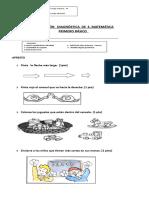 Evaluación Diagnóstica de Matemática 1º (1)