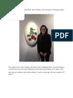 Katherine Boyer Art Show