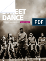 Paa Street Dance Syllabus Specification