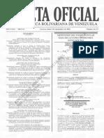 Gaceta Oficial N° 41.473 3 de septiembre de 2018