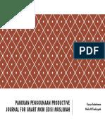 Panduan Productive Journal for Muslimah