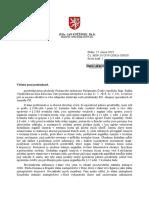 Odpoved MSp - Nasazeni ACR CSCR