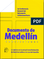 CELAM - Documento Conclusivo de Medellin