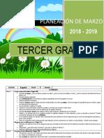 Planeacion de marzo - 3er Grado 2018-2019.docx