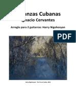 4 Danzas Cubanas-duo