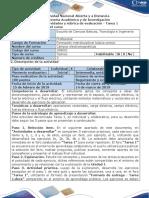 Guía de actividades y rúbrica de evaluación - Tarea 1 - Campo eléctrico.docx