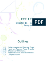 ECE 1311 Chapter 11