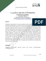 Pregnancy Outcome in Peripartum Cardiomyopathy