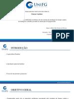 Slide TCC II - Dário