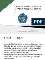 PENANGANAN PASIEN MENGGIGIL (SHIERING) PASCA ANESTESI.pptx