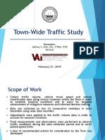 Norwell Traffic Study presentation Feb. 27, 2019