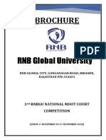 2nd National RNB Moot Court 2018 Brochure 1
