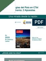 APUESTAS PAIS COLOMBIA 2025 METAS EN CT+I
