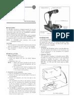 Kenwood MC-60 Manual