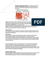2 Faktor Penyebab Hemoglobin Tinggi Dalam Darah.docx