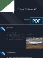 China Airlines 611 Michael Van Beveren PPT.pptx