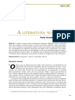 A Literatura No Limite - Paulo Oliveira