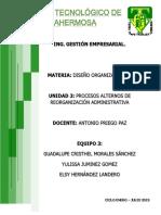 DISEÑO ORGANIZACIONAL UNIDAD 3.docx
