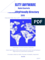 AADQ Disability Friendly Directory 2019