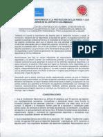 Vicepresidenta de la República firma Pacto por la Transparencia y la Protección de los niños y las mujeres en el deporte colombiano