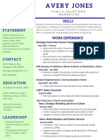 avery jones - creative resume gmail