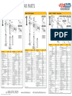 Trailer landing gear parts catalog